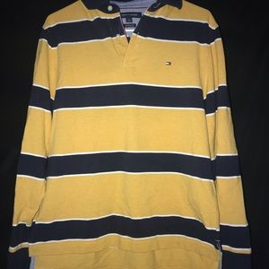 Tommy Hilfiger Striped Long Sleeve Size Small